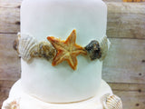 Starfish with Seashell Border