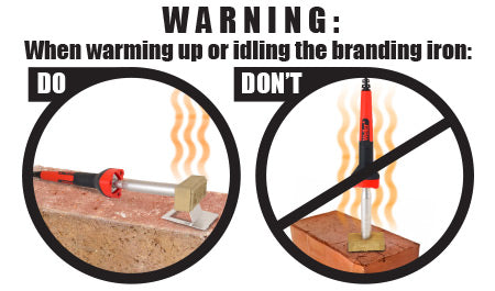 Branding Irons Do's and Dont's