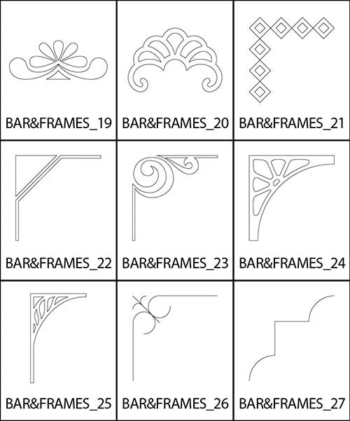 Bars and Frames 3