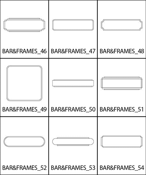 Bars and Frames 6