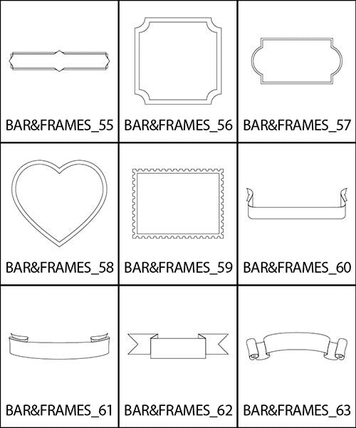 Bars and Frames 7