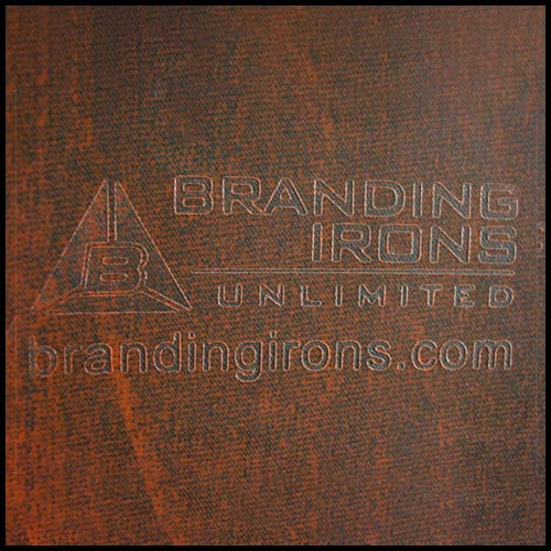 Branded Brown Plastic