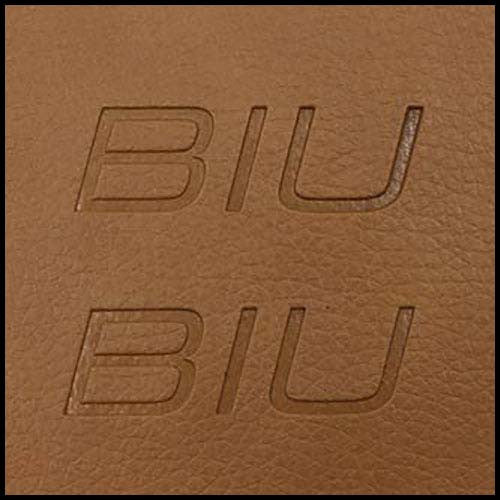 Branded Tan Leather