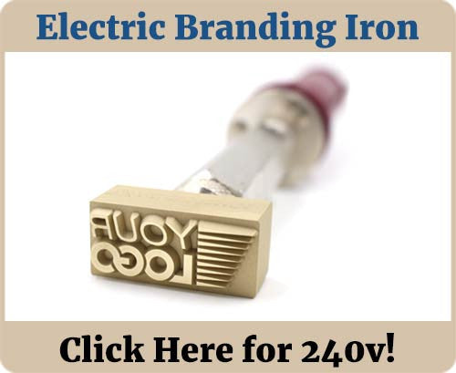 Custom Branding Iron Banner - Electric 240v