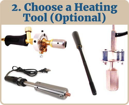 Choose a Heating Tool (Optional) Picture