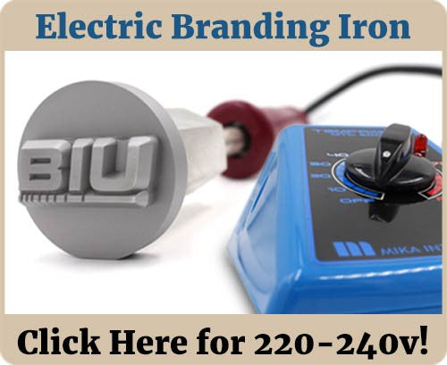 Electric Food Branding Iron Banner - 240v