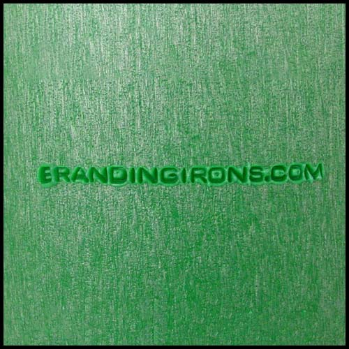 Branded Green Plastic