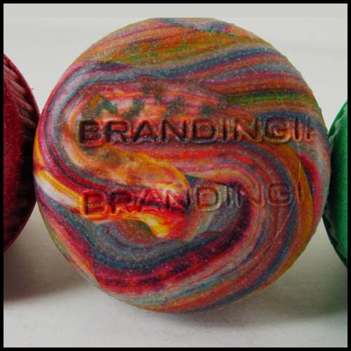 Branded Rainbow Bottle Stopper