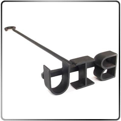 2-3 Letter Monogram Steak Branding Iron – Classic (Blacksmith Style)