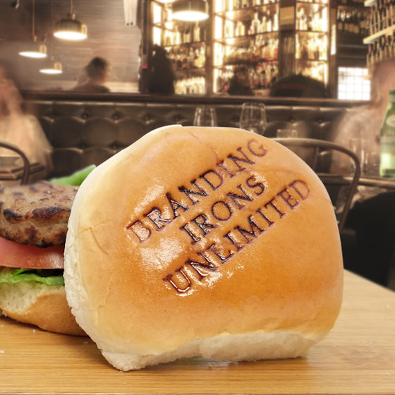 Light Use Custom Branding Iron for Burger Buns