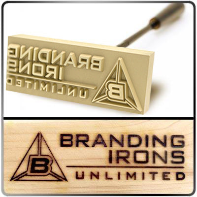 Custom Multi-Purpose Brass Branding Head - Main Picture