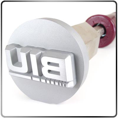 Custom Stainless Steel Branding Iron with Sealed Electric Heating Tool