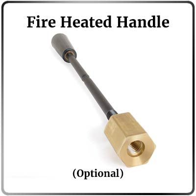 Heavy Duty Fire Heated Handle