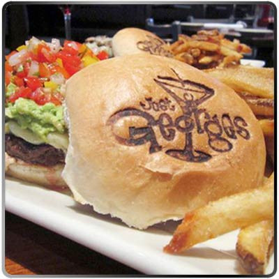 Branded Burger Bun - George's