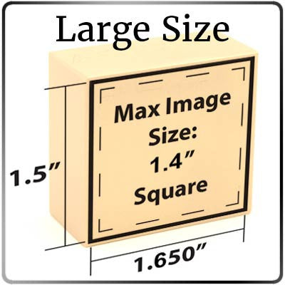 Large Size Branding Head Dimensions