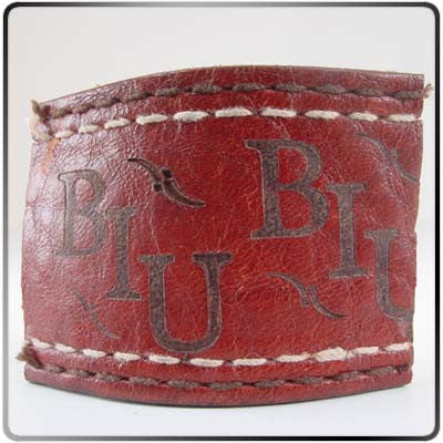 Branded Scrap of Leather