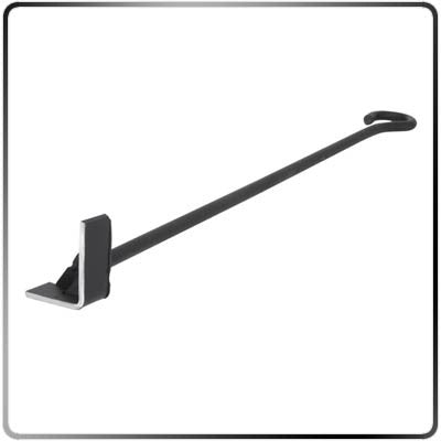 Single Letter A-Z Steak Branding Iron – Classic (Blacksmith Style) - L