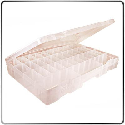 Plastic Compartment Box - Open