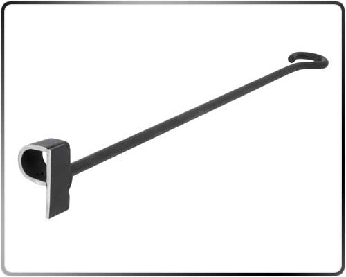 Single Letter A-Z Steak Branding Iron – Classic (Blacksmith Style) - P