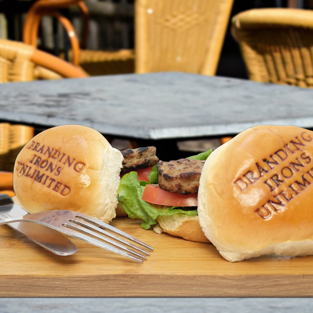 Light Use Custom Branding Iron for Slider Buns