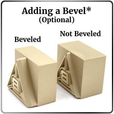 Bevel vs. No Bevel Photo