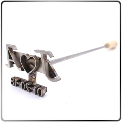 Custom Wedding Unity Brander - 14 In. Branding Iron
