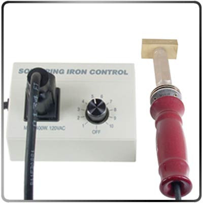 Choice Rheostat-400W Temperature Control with Iron Connected