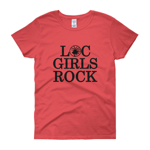 Loc Girls Rock women's short sleeve t-shirt