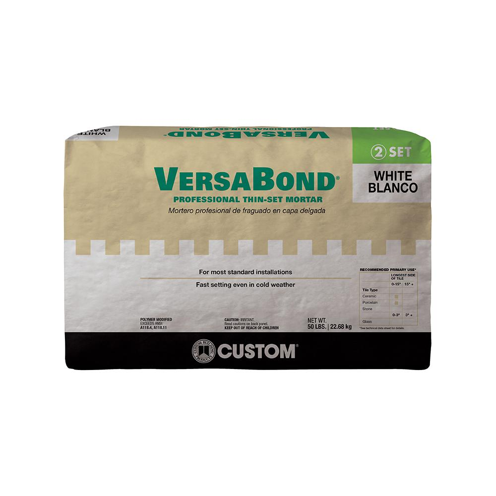 VersaBond White 50 lbs. Fortified Thinset Mortar