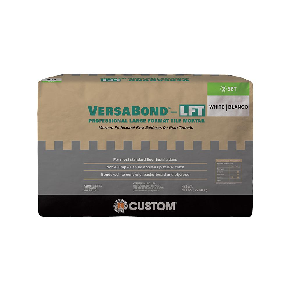 VersaBond-LFT 50 lbs. White Fortified Medium Bed Mortar