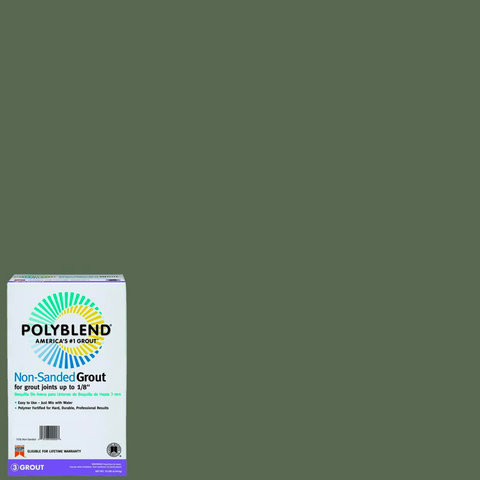 Polyblend® Non-Sanded Tile Grout #335 Winter Gray