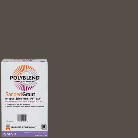 Polyblend Sanded Tile Grout #540 Truffle