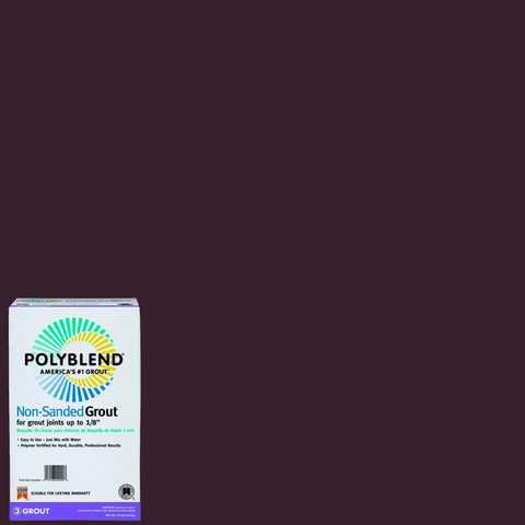 Polyblend® Non-Sanded Tile Grout #95 Sable Brown