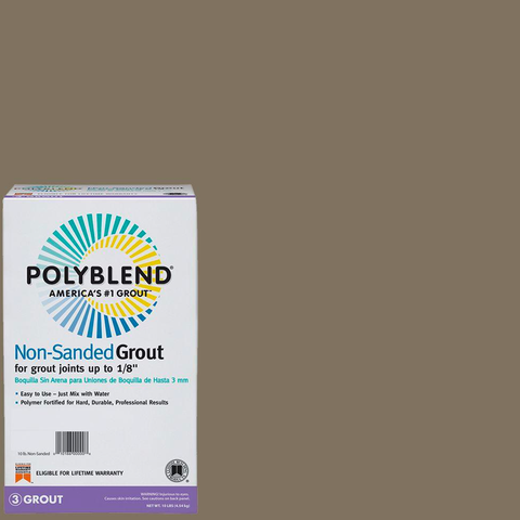 Polyblend® Non-Sanded Tile Grout #544 Rolling Fog