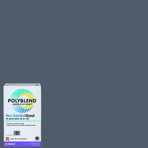 Polyblend® Non-Sanded Tile Grout #19 Pewter