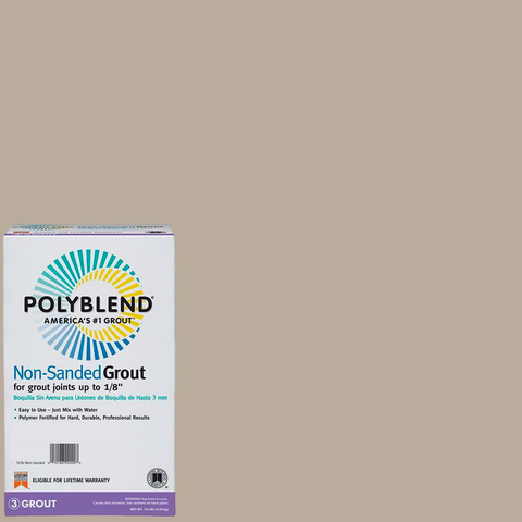 Polyblend® Non-Sanded Tile Grout #386 Oyster Gray