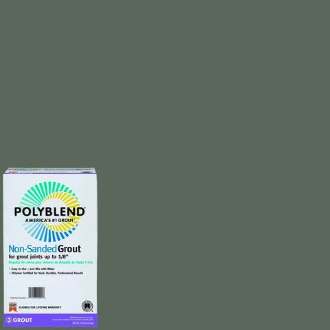 Polyblend® Non-Sanded Tile Grout #09 Natural Gray