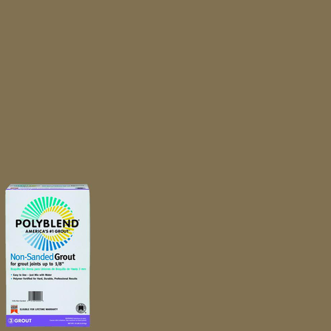 Polyblend® Non-Sanded Tile Grout #145 Light Smoke
