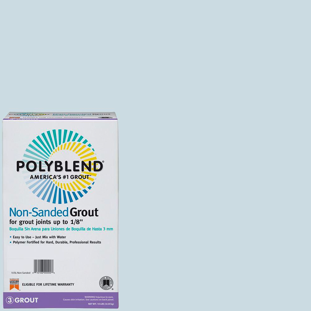 Polyblend® Non-Sanded Tile Grout #547 Ice Blue