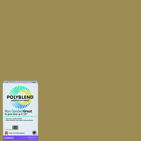 Polyblend® Non-Sanded Tile Grout #380 Haystack