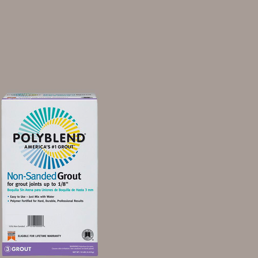 Polyblend® Non-Sanded Tile Grout #542 Graystone