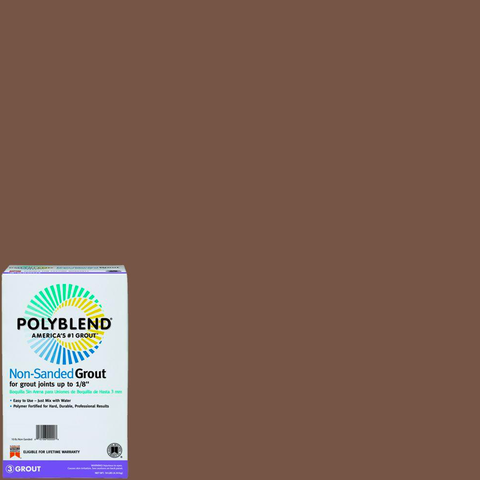 Polyblend® Non-Sanded Tile Grout #105 Earth