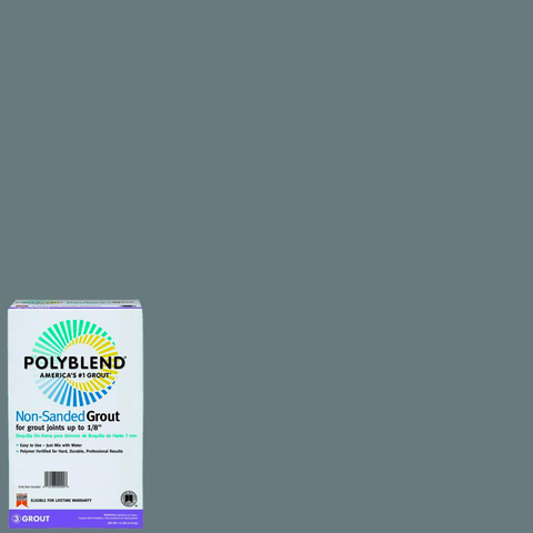 Polyblend® Non-Sanded Tile Grout #165 Delorean Gray