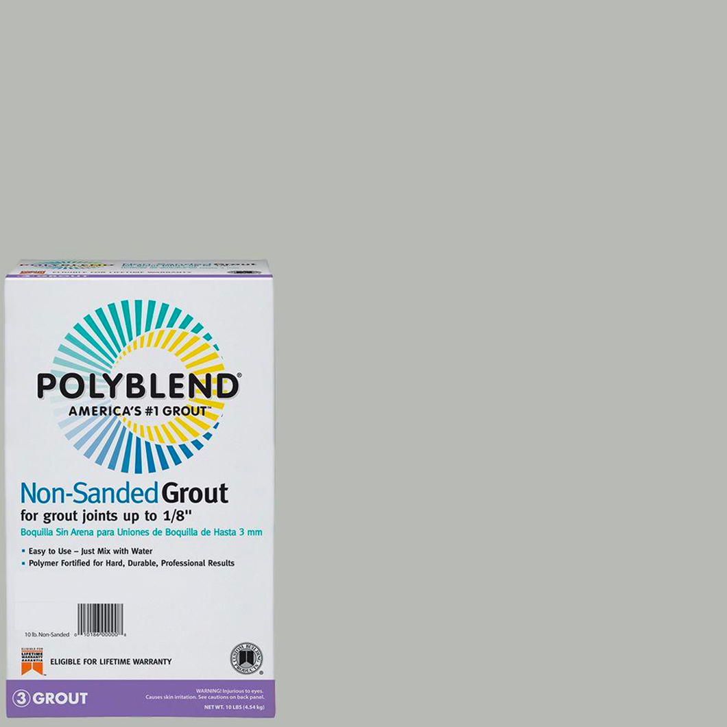 Polyblend® Non-Sanded Tile Grout #546 Cape Gray