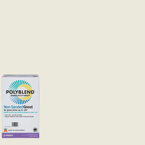 Polyblend® Non-Sanded Tile Grout #381 Bright White