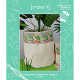 05432-LE3179 COCKATOO FLOWER POT HOLDER