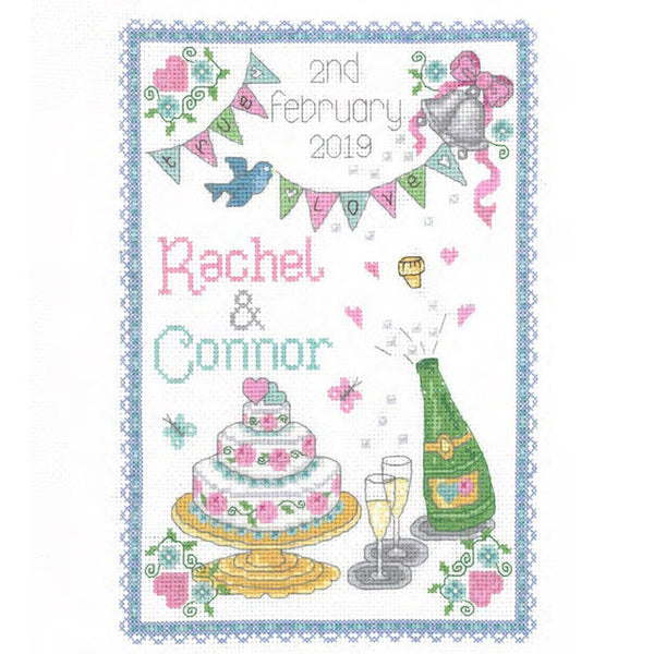 057132-True Love Wedding Sampler