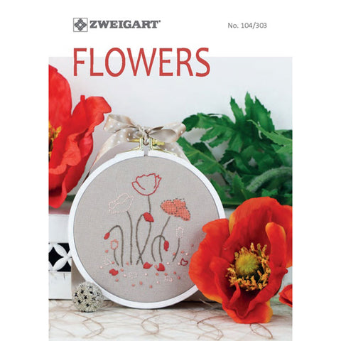 104.303 ZWEIGART Flowers Booklet