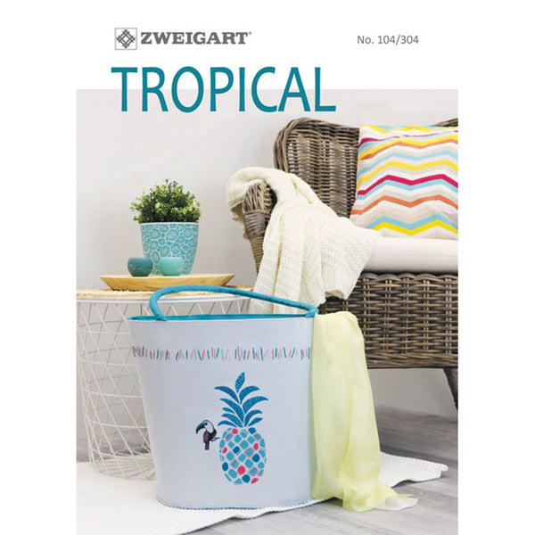 104.304 ZWEIGART Tropical Booklet