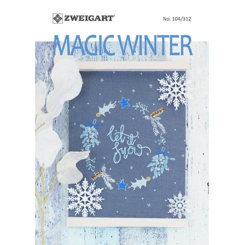 104.312 ZWEIGART Magic Winter Booklet